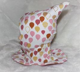 ♥ Zipfel-Schlupf-Mütze Ballons Gr. 42-46 cm ♥