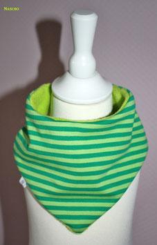 ♥ Herbst / Winter Halstuch Streifen grün ♥