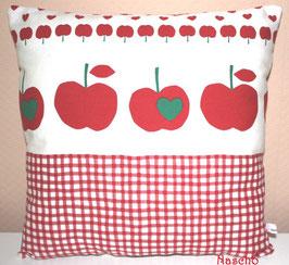 ♥ Kuschelkissen Äpfel rot ♥