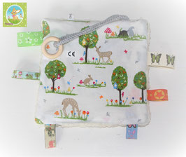 ♥ Knistertuch Wald N0368 ♥