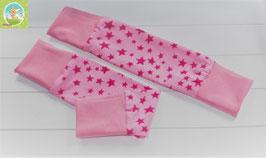 ♥ Baby und Kinder Stulpen Wunschgröße rosa pink ♥