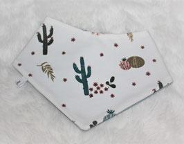 ♥ Frühjahr / Sommer Halstuch Kaktus weiß / mint ♥