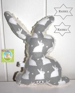 ♥ Flanell Rassel Häschen N0259 ♥