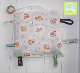 ♥ Knistertuch Pastell Wald  N0309 ♥