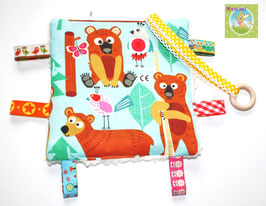 ♥ Knistertuch Happy Bears N0254 ♥