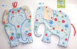 ♥ XL Kuscheltuch Elefant N0251 ♥