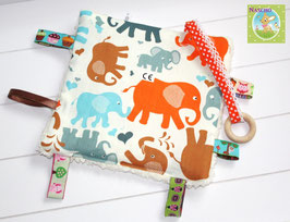 ♥ Knistertuch Elephant Family N0287 ♥
