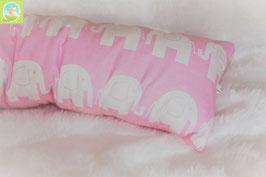 ♥ Lagerungskissen Elefanten rosa ♥