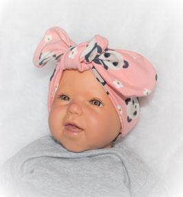 ♥ Stirnband / Haarband rosa Pandabär ♥