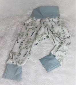 ♥ Babyhose Jersey Wunschgröße Eukalyptus ♥