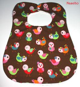 ♥ XL Lätzchen Vögel - bis 4 Jahre ♥