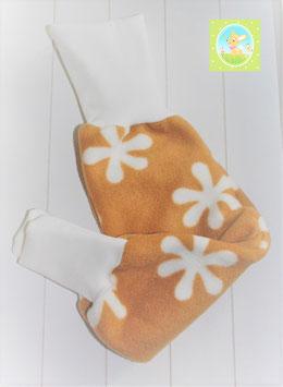 ♥ Babyhose Fleece Blumen Wunschgröße ♥