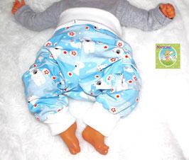 ♥ Babyhose Jersey Wunschgröße Eisbär ♥