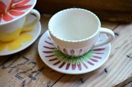 "Cappuccinotasse ""Blume 1"""