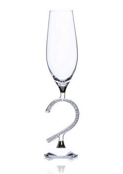 Champagnerglas Afrodite Heart 190