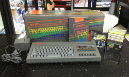 SINCLAIR ZX SPECTRUM +2 128K GRIGIO GRAY + CAVO VIDEO / AUDIO RGB SCART