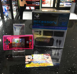 NINTENDO GAMEBOY ADVANCE MICRO PINK CON ACCESSORI