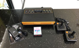 ATARI VCS CX 2600 1978 + MODIFICA VIDEO AUDIO + TENNIS REAL SPORT