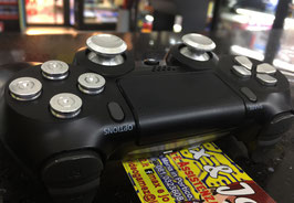 MODIFICA TUNING CONTROLLER SONY PS4 DUALSHOCK4 IN METALLO  - VARIE OPZIONI -