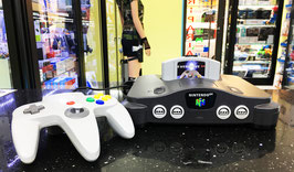 NINTENDO 64 RELOAD 8GB ORIGINALE ANNI 90' (+300 ROM) + ACCESSORI