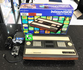INTELLIVISION MATTEL CON MODIFICA VIDEO / AUDIO + NASL SOCCER