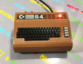 COMMODORE 64 C64 MINI MAX4D - NO PIXEL  128GB @ 1500 MHZ + 1 CONTROLLER WIRELESS  *NOVITA'* V4-2020