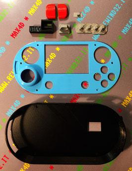 KIT 3D PI X WAVESHARE GAMEHAT SCOCCA CASE BOX HDMI - POWER - PORTE USB COMPLETO