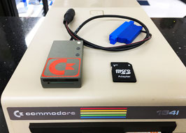 DRIVE SD CARD 8 GB PER COMMODORE 64 / 128 / VIC20 ( FW 2018 )