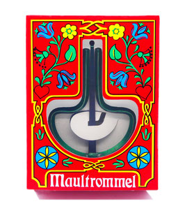 COLOR ASSORTED TRADITIONAL WIMMER JAW HARP IN GIFT WRAPPING
