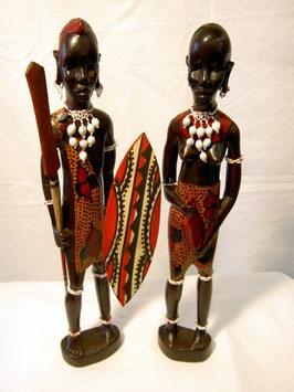 Massai-Paar