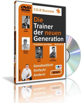 """DVD """"Trainer der neuen Generation!"""" (4 Impuls-Vorträge)"""