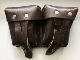 Кожаный подсумок для винтовки мосина, конец 40-х .