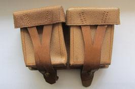 Кожаный подсумок для винтовки мосина