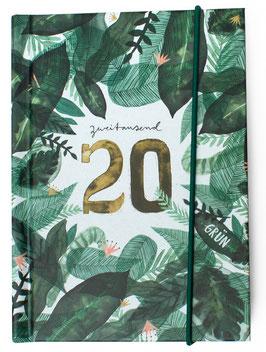Taschenkalender GRÜN 2020