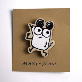 Holz-Pin MAKI-MAUS