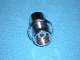 Fülladapter Pressluft zu Sauerstoff O2 Außengewinde G3/4,  neu