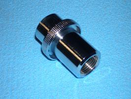Fülladapter Pressluft zu Sauerstoff O2, Pressluft Innengewinde G5/8, neu