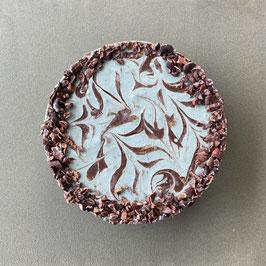 チョコミント ローケーキ