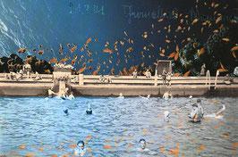 Collage No. 170/2013 - Im Schwimmbad