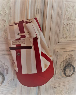 "Bucketbag""Seaside Red"""