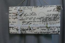 "Pinnwand/Memoryboard"" Letter """