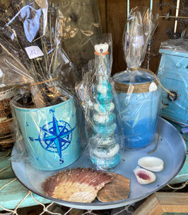 Resinkunst, Kerzengläser, Dekoflaschen und me(e)hr