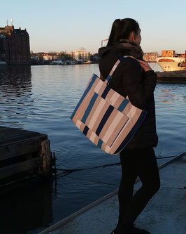 """Strandtasche""""Stripes by the Sea""""  The Summer Edition"""