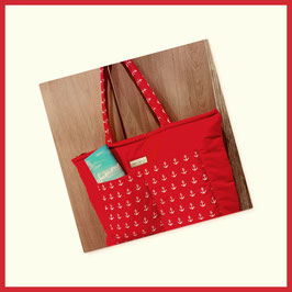 """Strandtasche""""Red Ancor""""  The Summer Edition"""