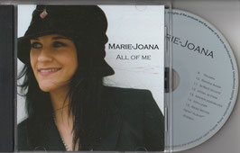 All of me Album Marie-Joana Audio CD