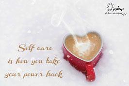 Kaart Zorg goed voor jezelf!