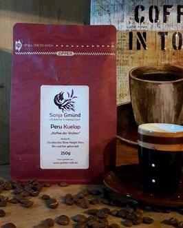 Peru Kuelab, Kaffee der Wolken, 250g, 100% Arabica, ganze Bohnen