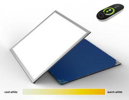 LED Panel 62x62 mit Farbwechselfunktion über Fernbedienung