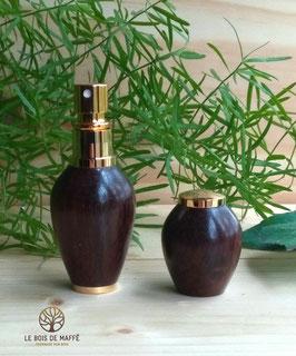 Vaporisateur de parfum en palissandre de Madagascar