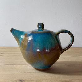 teapot - aquamarine blue
